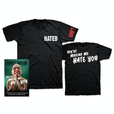Corey Taylor You're Making Me Hate You T-Shirt Bundle