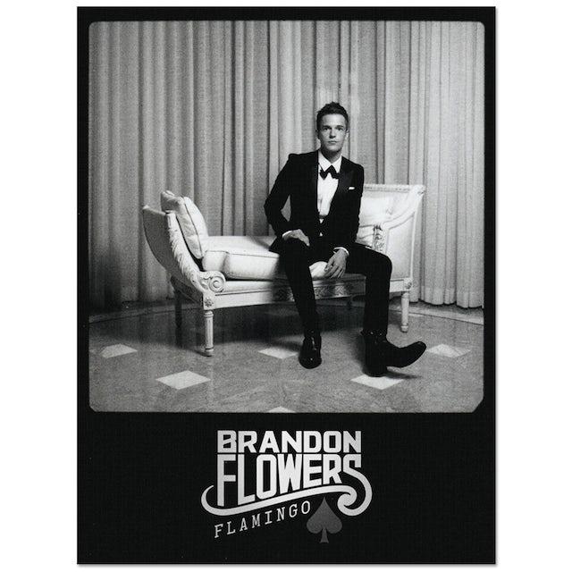 Brandon Flowers Polaroid Poster