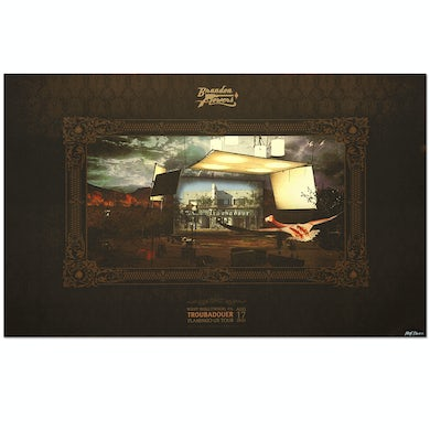 Brandon Flowers West Hollywood Event Lithograph