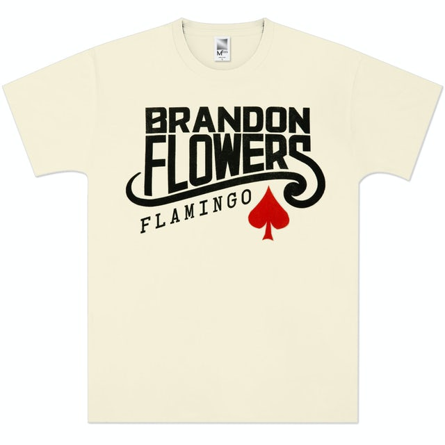 Brandon Flowers Flamingo Logo T-Shirt