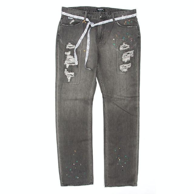 TRUKFIT D Splatter Straight Jeans