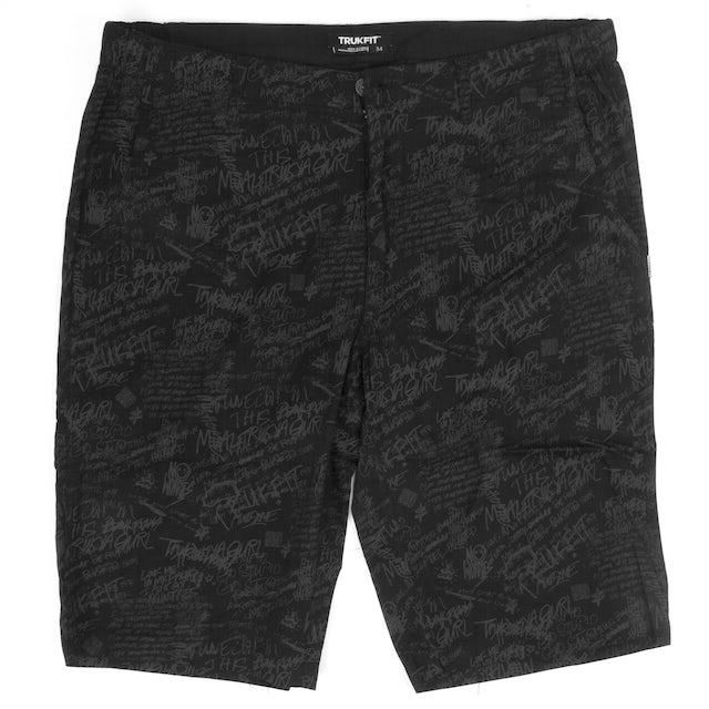 TRUKFIT Scribble Trouser Shorts