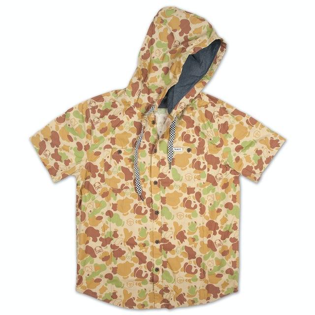 TRUKFIT Sand Camo Hooded Woven Shirt