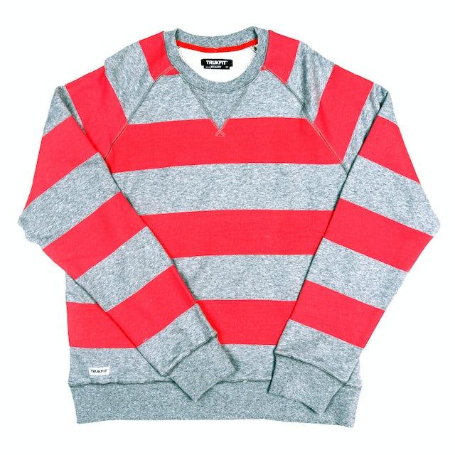 TRUKFIT Bold Stripes Crewneck Sweatshirt