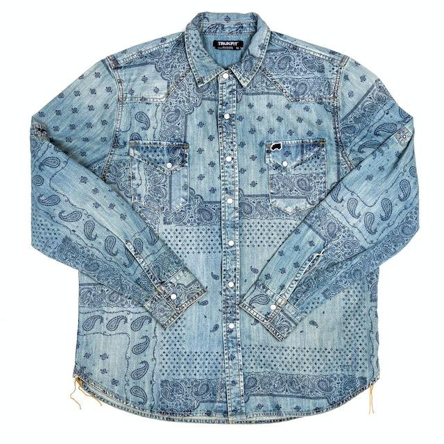 TRUKFIT Turkfit Long Sleeve Bandana Woven Shirt