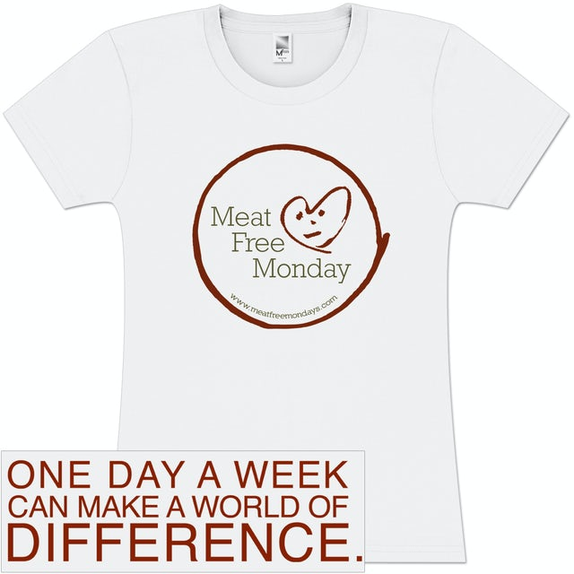 Meat Free Monday Girlie T-Shirt
