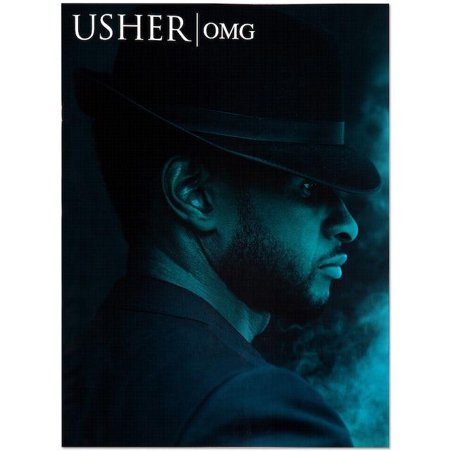 Usher 2010 OMG Tour Program