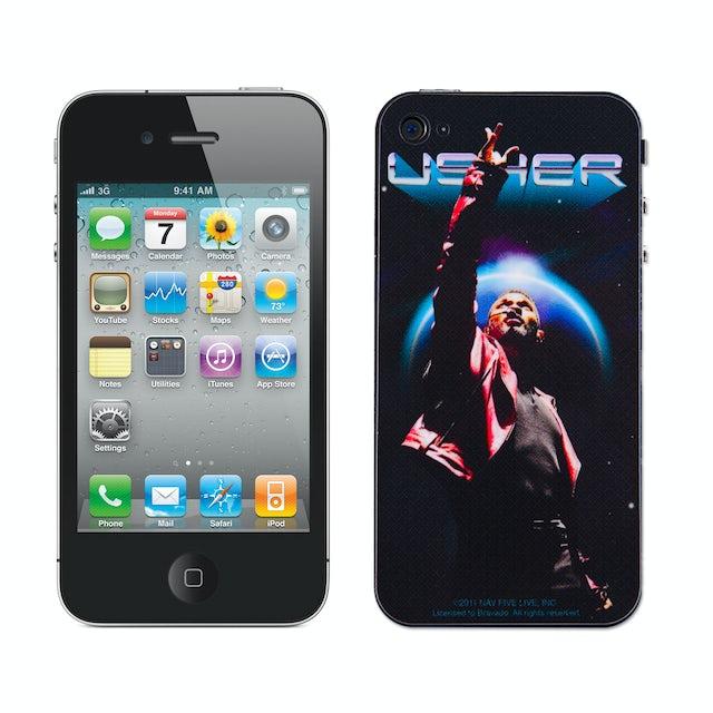 Usher Up Above iPhone Skin