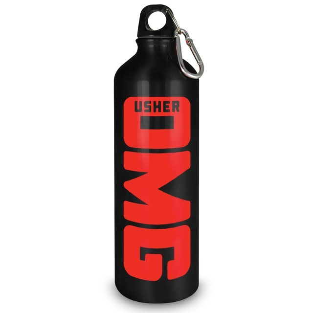 Usher OMG Water Bottle - Aluminum