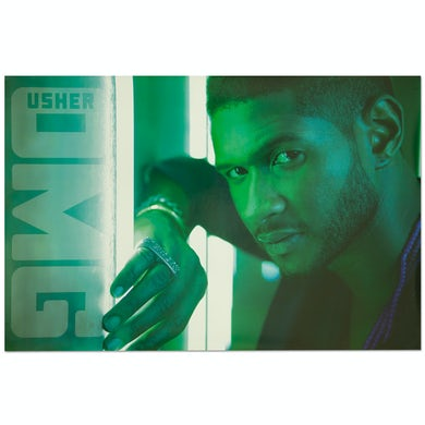Usher OMG Tour Poster