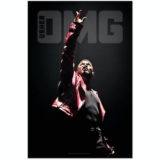 Usher Up Above OMG Poster