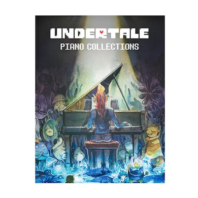 Toby Fox UNDERTALE Piano Collections (Physical Sheet Music Book)