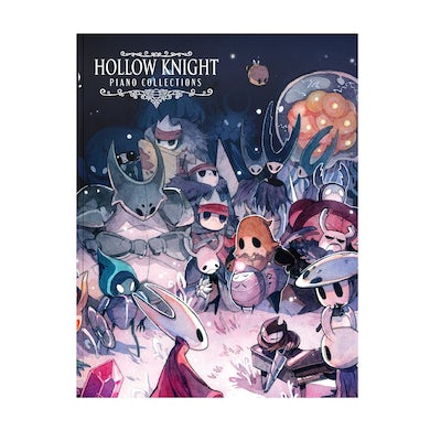 Hollow Knight Piano Collections (Physical Sheet Music Book)