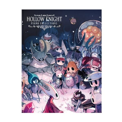 Christopher Larkin Hollow Knight Piano Collections (Physical Sheet Music Book)
