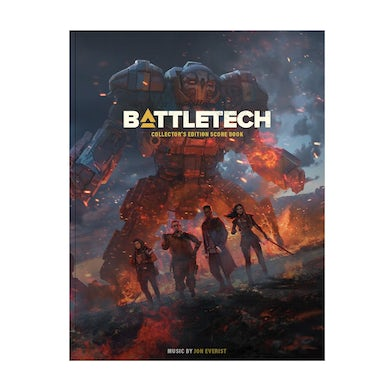 BattleTech Collector's Edition Score Book (Sheet Music Book)