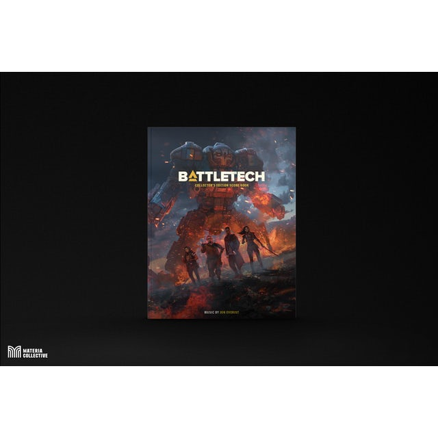 Jon Everist BattleTech Collector's Edition Score Book (PHYSICAL Sheet Music)