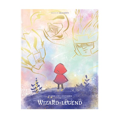 Dale North Piano Collections WIZARD OF LEGEND (Physical Sheet Music Book)