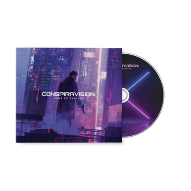 Conspiravision: Deus Ex Remixed - Alexander Brandon & Michiel van den Bos (Compact Disc)