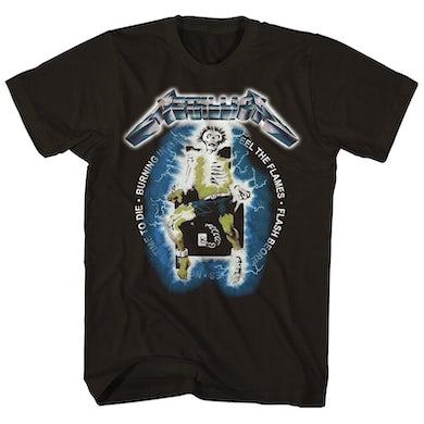 Metallica T-Shirt | Ride The Lightning Electric Chair Metallica Shirt