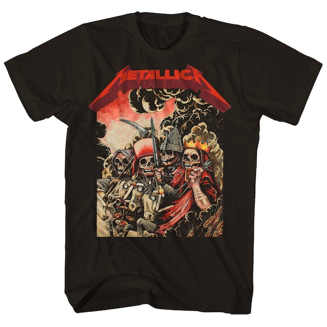 Metallica T-Shirt | The Four Horsemen T-Shirt
