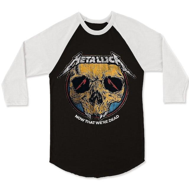 Metallica Raglan | Now That We're Dead Raglan (Reissue)