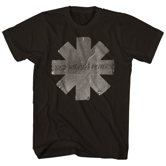 Red Hot Chili Peppers T-Shirt | Duct Tape Logo T-Shirt