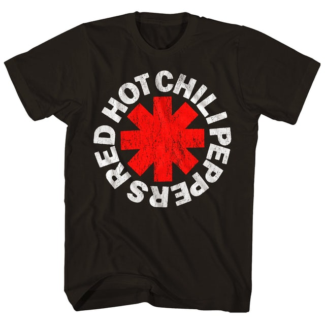Red Hot Chili Peppers T-Shirt   Official Asterisk Logo T-Shirt