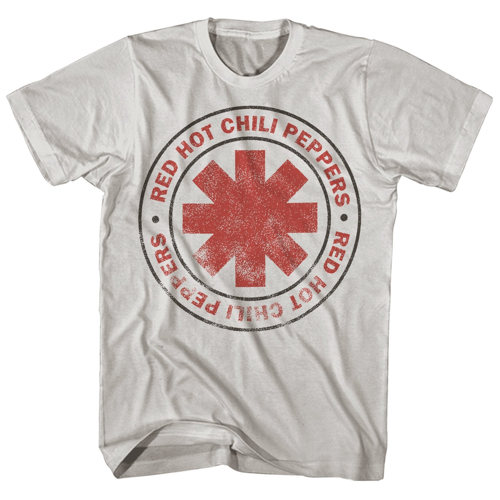 Official Red Hot Chili Peppers Retro Californication T-Shirt  Rock Distressed As