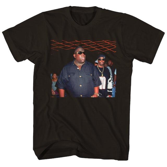 The Notorious B.I.G. T-Shirt   Puffy and Biggie Versace Shades T-Shirt