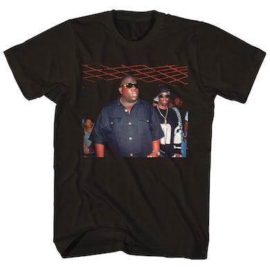 The Notorious B.I.G. T-Shirt   Puffy and Biggie Versace Shades Shirt
