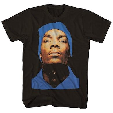 Snoop Dogg T-Shirt   Classic Doggy Dogg Beanie Photo Shirt