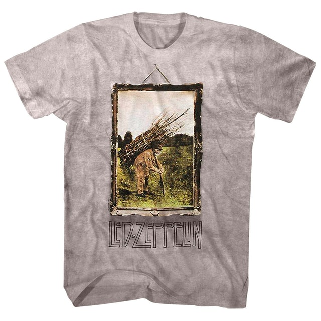 Led Zeppelin T-Shirt | IV Album Cover Art Led Zeppelin T-Shirt