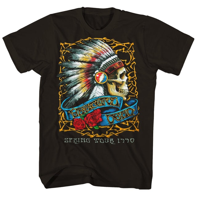 Grateful Dead T-Shirt | Spring Tour '90 Grateful Dead T-Shirt (Reissue)