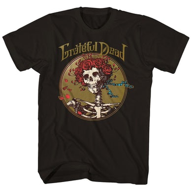 The Grateful Dead T-Shirt | Bertha Skull & Roses Grateful Dead Shirt