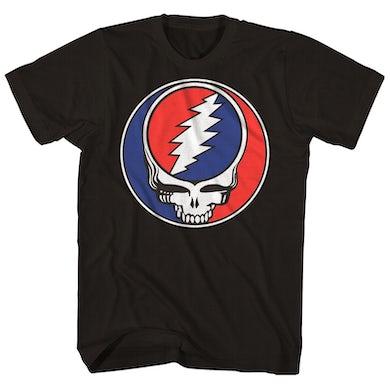 The Grateful Dead T-Shirt | Steal Your Face Skull Logo Grateful Dead Shirt