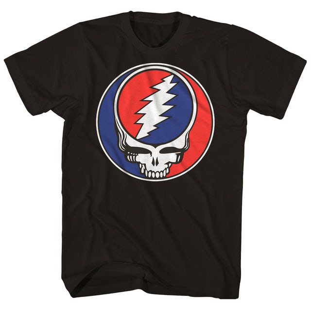 Grateful Dead T-Shirt | Steal Your Face Skull Logo Grateful Dead T-Shirt
