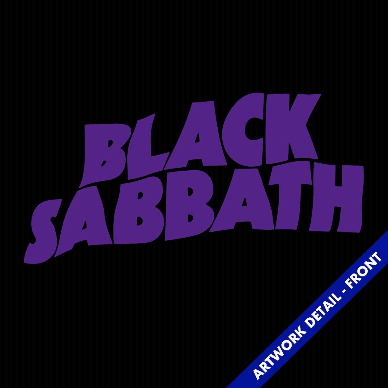 e094752e T-Shirt   Master Of Reality Logo Black Sabbath T-Shirt