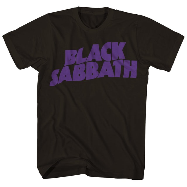 Black Sabbath T-Shirt   Master Of Reality Logo Black Sabbath T-Shirt