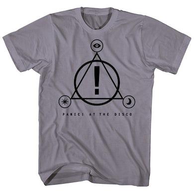 Panic At The Disco T-Shirt   Symbol Logos Panic At The Disco Shirt