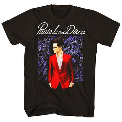 Panic At The Disco T-Shirt | Blue Wall Panic At The Disco Shirt