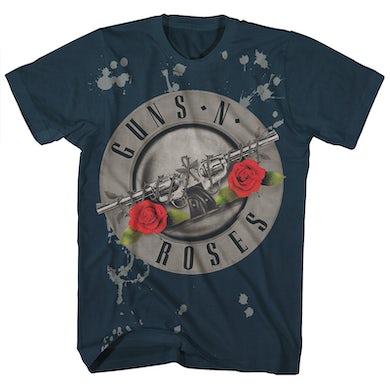 Guns N' Roses T-Shirt | Official Bullet Logo Guns N' Roses Shirt