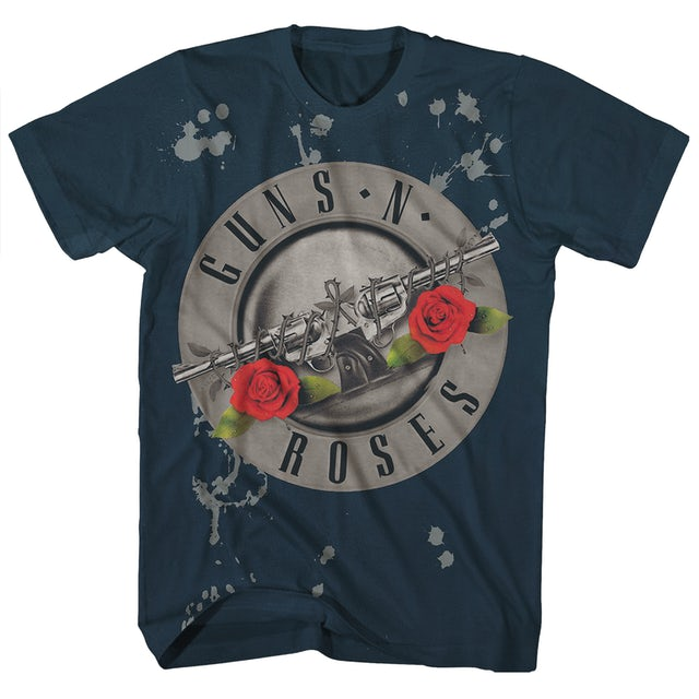 Guns N' Roses T-Shirt   Official Bullet Logo Guns N' Roses T-Shirt