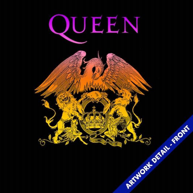 Queen T-Shirt   Official Logo Crest Queen T-Shirt