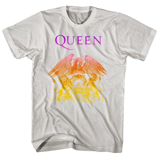 Queen T-Shirt | Official Logo Gradient Queen T-Shirt