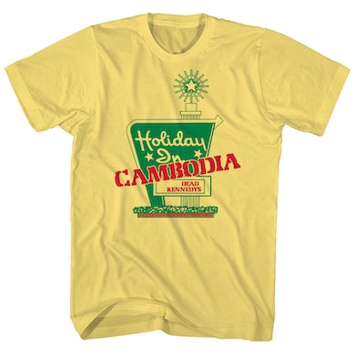 Dead Kennedys T-Shirt | Holiday In Cambodia Dead Kennedys T-Shirt