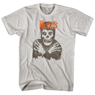The Misfits T-Shirt | Distressed Skull Logo Misfits Shirt
