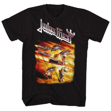 Judas Priest T-Shirt | Firepower Album Art Judas Priest T-Shirt