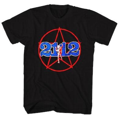 Rush T-Shirt | 2112 Album Art Rush Shirt