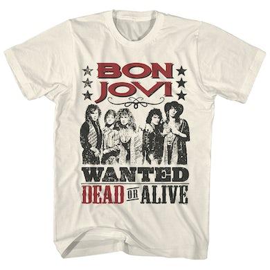 Bon Jovi T-Shirt | Wanted Dead or Alive Bon Jovi T-Shirt