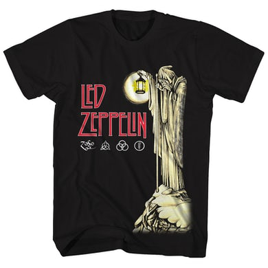 Led Zeppelin T-Shirt | IV Hermit & ZOSO Logos Led Zeppelin Shirt